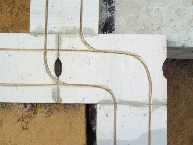Армирование газобетона стеклопластиком