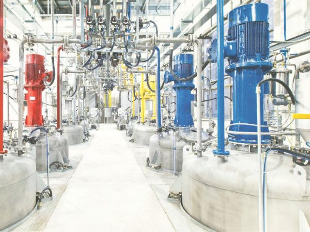 Химические предприятия и электростанции